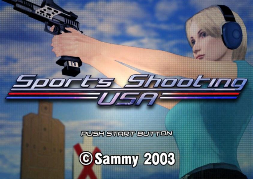 Sports Shooting USA Splash Screen