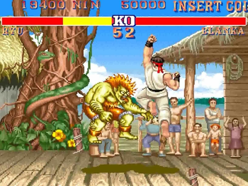 Street Fighter II Game Play