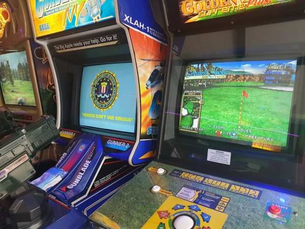 Big Buck Hunter, Sega GunBlade & Golden Tee Arcade Games, New Wave Arcade